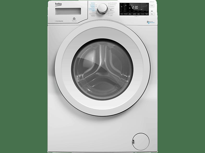 BEKO WDW 85140 Waschtrockner (8 Kg, 1400 U/Min., A)