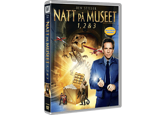 Night at the Museum 1-3 Box Komedi DVD