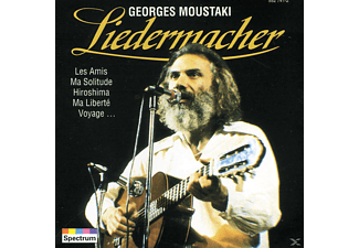 Georges Moustaki - LIEDERMACHER - (CD)