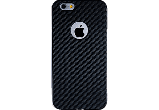 SPADA 021485 Backcover Apple iPhone 6, iPhone 6s Kunststoff Schwarz