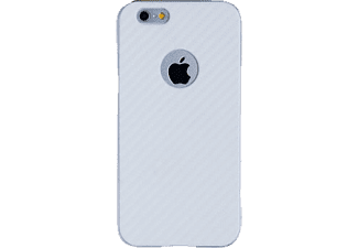 SPADA Back Case - Carbon-Look - Apple iPhone 6/6S - Weiß Backcover Apple iPhone 6/6S Kunststoff Weiß