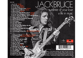 Jack Bruce Sunshine Of Your Love: A Life In Music CD