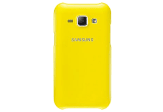 SAMSUNG J1 Protective Cover Yellow  - (EF-PJ100BYEGWW)