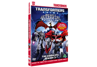 Transformers Prime S3 Animation / Tecknat DVD