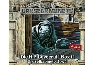 Gruselkabinett-Box - Die H.P.Lovecraft-Box Ii - (CD)