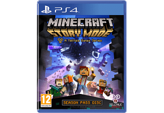 Minecraft: Story Mode PS4