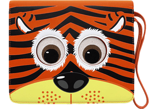 HAMA TabZoo Tiger, Bookcover, 10.1 Zoll, Universal, Orange