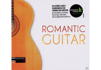 Los Romeros, VARIOUS, John Towner Williams, L.A.Guitar Quartet, Bream - Romantic Guitar [CD]