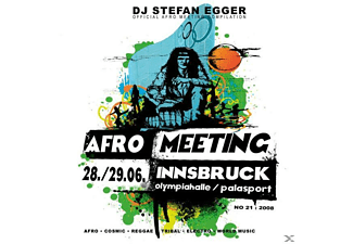 Dj Stefan Egger - Afro Meeting Nr.21/2008 [CD]
