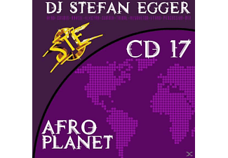 Dj Stefan Egger - Afro Planet Cd 17 [CD]