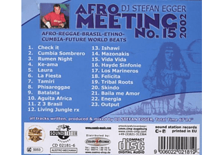 Dj Stefan Egger - Afro Meeting Nr.15-2002 - (CD)
