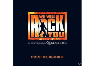 The German Cast Of We Will Rock You - WE WILL ROCK YOU - CAST ALBUM [CD]