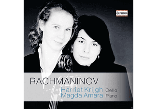 Krijgh Harriet/Amara - Cellosonate Op.19/Elegie/Vocalise/Romanze Op.4 [CD]