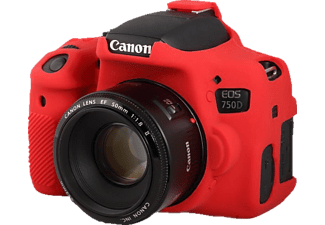 EASYCOVER Camera case for  Canon 750D / Rebel T6i Red - (ECC750DR)