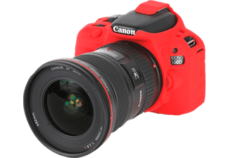 EASYCOVER Camera case for Canon 100D/SL1 Red - (ECC100DR)