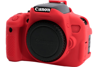 EASYCOVER Camera case for Canon 650D / 700D / Rebel T4i / T5i Red - (ECC650DR)