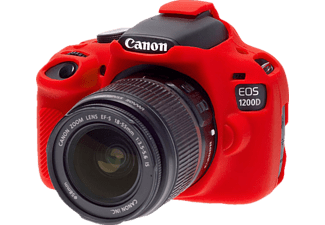EASYCOVER Camera case for Canon 1200D / Rebel T5 Red - (ECC1200DR)