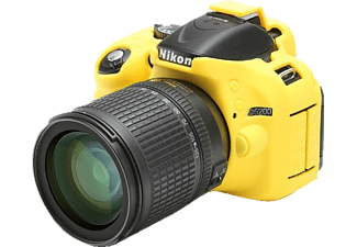 EASYCOVER Camera case for Nikon D5200 Yellow - (ECND5200Y)