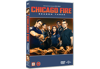 Chicago Fire S3 Action DVD