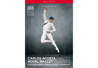 VARIOUS, Orchestra Of The Royal Opera House, Royal Ballet Sinfonia - La Fille Mal Gardee/Romeo & Juliet/Don Quixote [DVD]