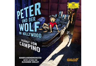 Alexander Shelley, Campino, Bundesjugendorchester - Peter Und Der Wolf In Hollywood (Deluxe Edt.) [CD]