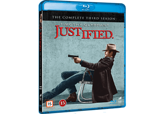 Justified S3 Action Blu-ray