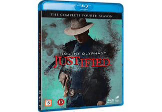 Justified S4 Action Blu-ray