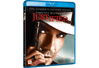 Justified S2 Action Blu-ray