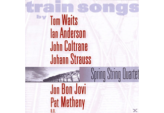 Spring String Quartet - Train Songs [CD]
