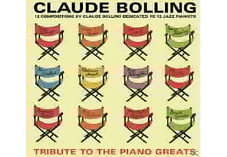 Claude Bolling - Tribute To The Piano Greats - (CD)