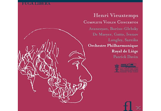 VARIOUS - Integrale Violin Concertos - (CD)