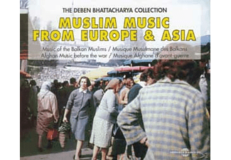 VARIOUS - Muslim Music From Europe & Asia - (CD)