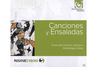 Clement Ensemble/visse Janequin - Canciones Y Ensaladas - (CD)