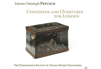 The Harmonious Society Of Tickle-fiddle Gentlemen - Concertos And Overtures for London - (CD)