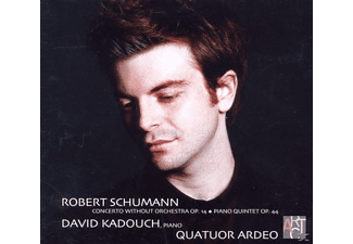 David Kadouch, Quatuor Ardeo - Klaviersonate op.14/Quintett op.44 - (CD)