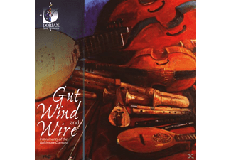 The Baltimore Consort - Gut Wind And Wire - (CD)