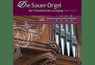 die sauer orgel der thomaskirche zu leipzig b hme ullrich. Black Bedroom Furniture Sets. Home Design Ideas