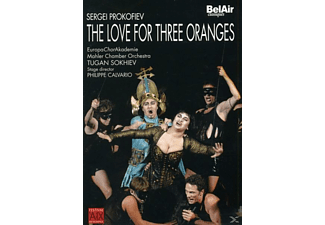 Sergei Sergeyevich Prokofiev - The Love For Three Oranges - (DVD)