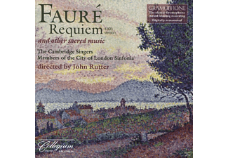 CAMBRIDGE SINGERS,THE/RUTTER,JOHN/VARCOE,STEPHEN/ASHTON,CARO, The Ashton/varcoe/scott/rutter/cambridge Singers - Requiem - (CD)