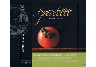 Filippo Emanuele Ravizza - Sonate Per Gravicembalo (London,1739) - (CD)