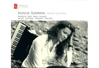 Ksenija Sidorova - Classical Accordeon - (CD)