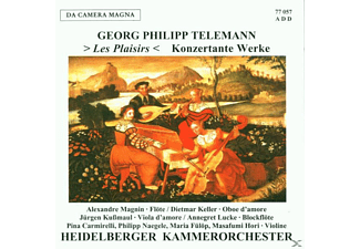Heidelberger Ko, Lucke L.&G. - Les Plaisirs-Konzertante Werke - (CD)