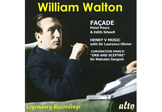 VARIOUS, Pears/Sitwell/Collins/English Opera Group - Walton Facade/+ [CD]