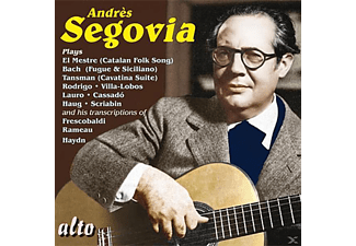 Andrés Segovia - Segovia Plays - (CD)