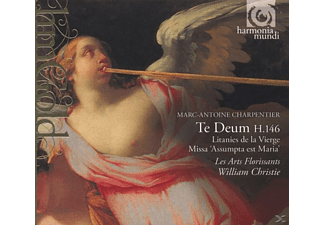 Les Arts Florissants, William/les Arts Florissants Christie - Te Deum H.146/Litanies H.11 - (CD)