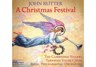 The Cambridge Singers, Rutter,John/Cambridge Singers,The/RPO - A Christmas Festival - (CD)