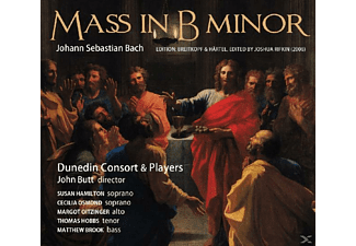 John & Dunedin Consort Butt - Mass In B Minor - (CD)