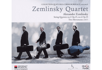 Zemlinsky Quartet - String Quartett No.2 Op.15, No.4 Op.25 - (CD)