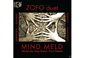 Mind Meld, Zofo Duet - Werks for One Piano, Four Hands - (CD)
