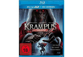 Krampus: The Christmas Devil - (3D Blu-ray)